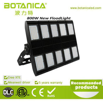 Smart outdoor lighting Zigbee dimmable led module flood light 800w
