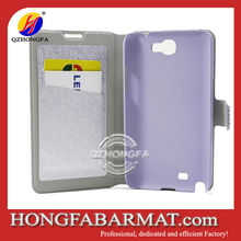 Wallet Card-Slot Pu Leather Cell Mobile Phone Case for Samsung Galaxy Note 2 N7100