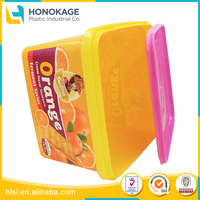 Plastic Food Box with FDA Approval Have Lid, Cookie Plastic Packaging with Disposable Lids
