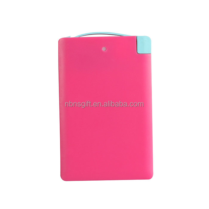 power bank custom logo wholesale slim power bank credit card