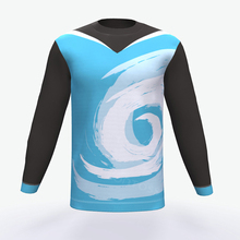 wholesale custom sublimation long sleeve t shirt for mens