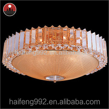 Luxury party light crystal ceiling light Popular Crystal Chandelier Lamp