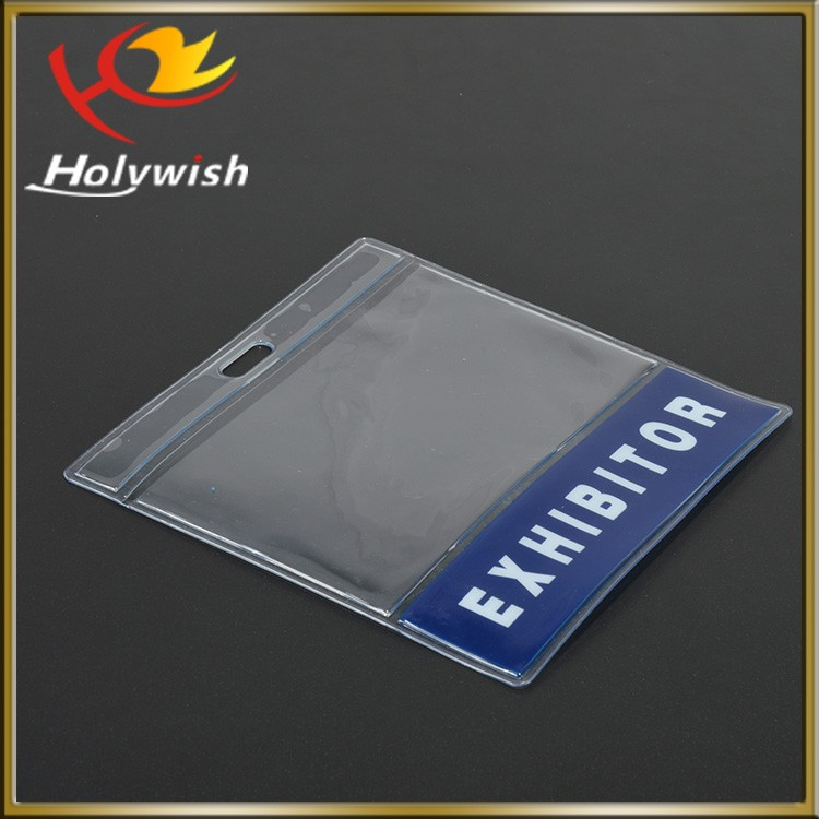 Custom cheap card holder waterproof pvc travel pouch