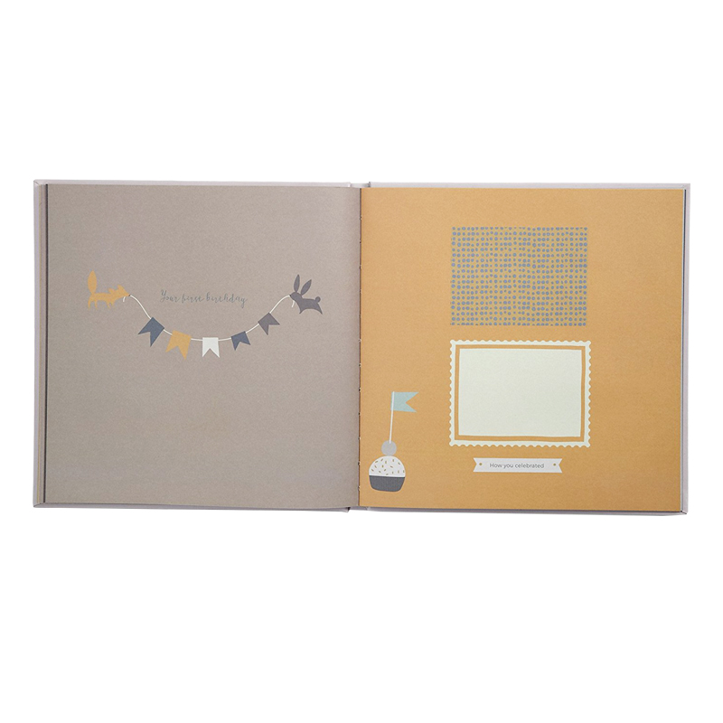 High Quality Full Color Printing Baby Memory Book