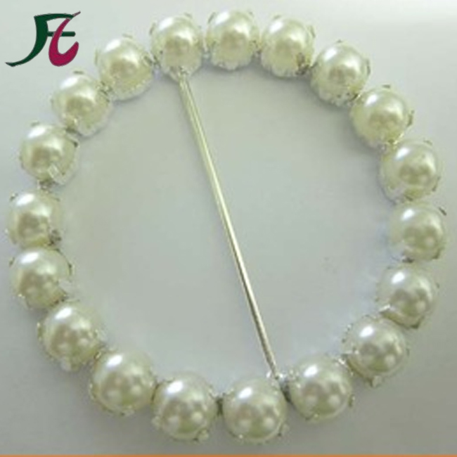 Wholesale Pearl Crystal Rhinestone <strong>Buckles</strong> for Wedding