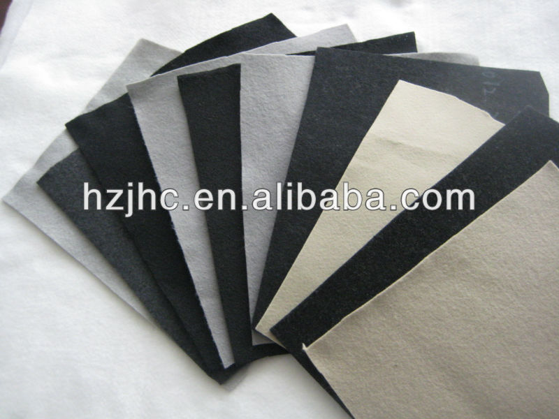 Needle punched polyester nonwoven fabric for car trunk/roof
