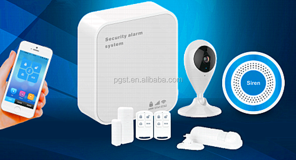 Smart Home Security Gateway Alarm System Wifi Cloud Control