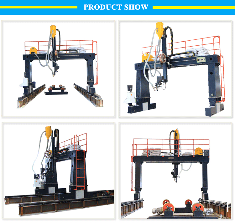High precision gantry type tower rod automatic external longitudinal weam welding machine