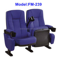 FM-239 Commercial 3d movie seat cinema with drink holder