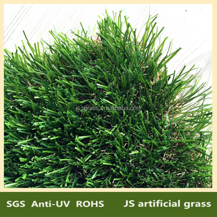decorative plastic green short artificial grass