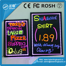Hanging on the window and wall writing board strip RGB5050 high light board