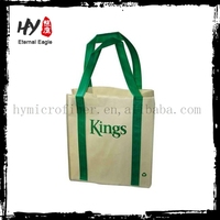 Professional metallic non woven bag, cheep shopping bag, tote gift bag non woven with CE certificate
