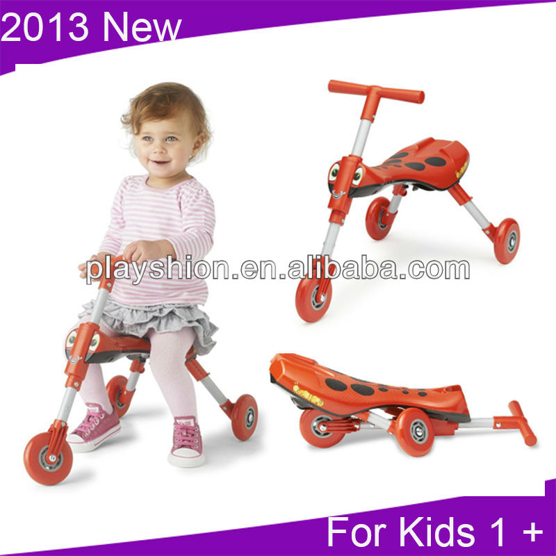 3 Wheel Kids Scooter For Age 1-3 years old ( Great For Indoor and Outdoor Fun )