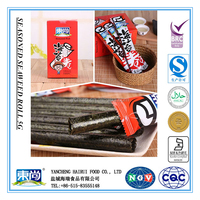 5g roll wholesale health seafood seaweed snack food of tomato flavor