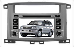 Wholesale Capacitive Screen 3G Wifi for Toyota Land Cruiser 100 pure Android 4.2.2 Car Dvd with Gps navigation