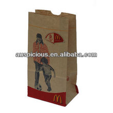 Macdonald fried chicken fast food instant food paper bag
