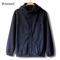 made in china warm and fashion hooides winter fleece jacket