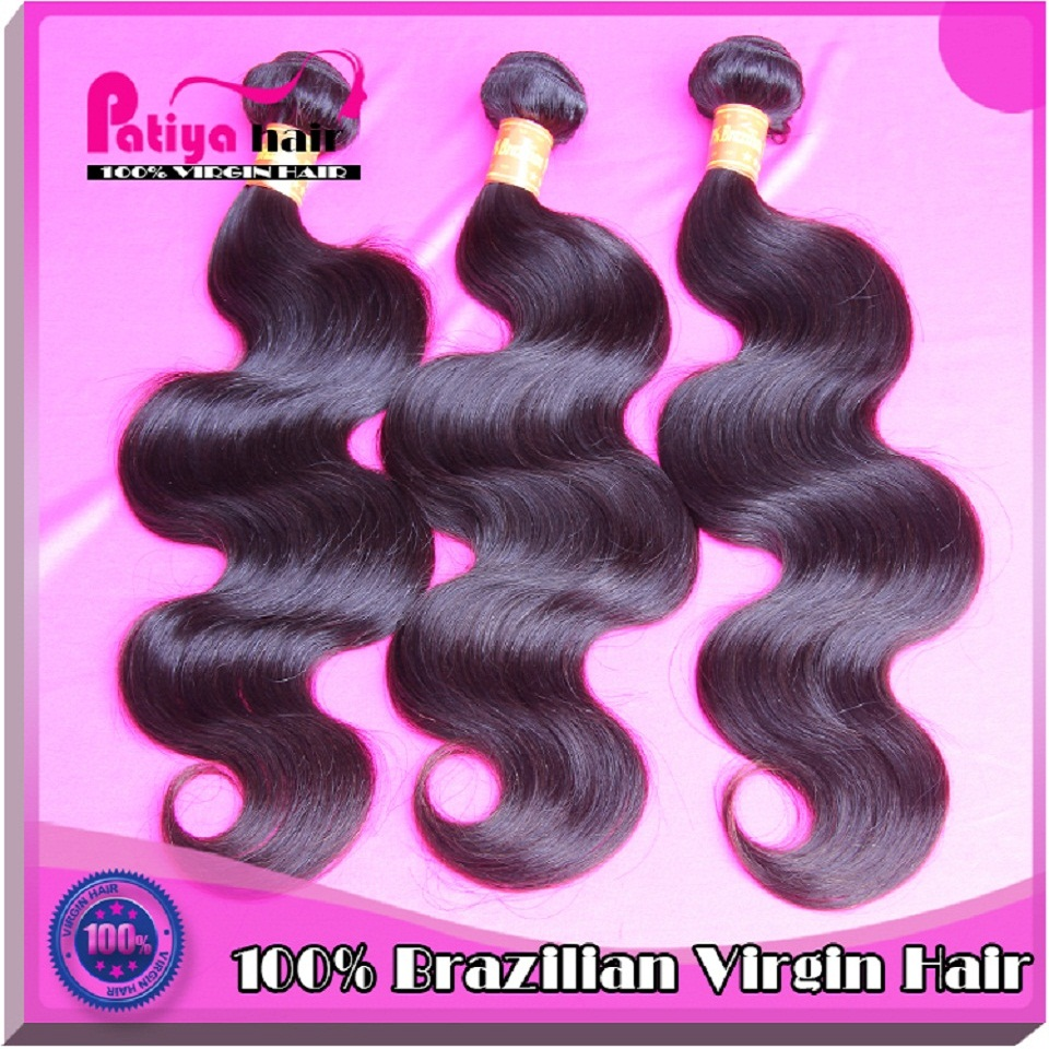 Patiya hair products cosmetic Guangzhou market sewing machine weft body wave brazilian hair extension
