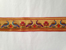 PAITHANI PARROT BORDER FOR SUIT AND SLEEVE