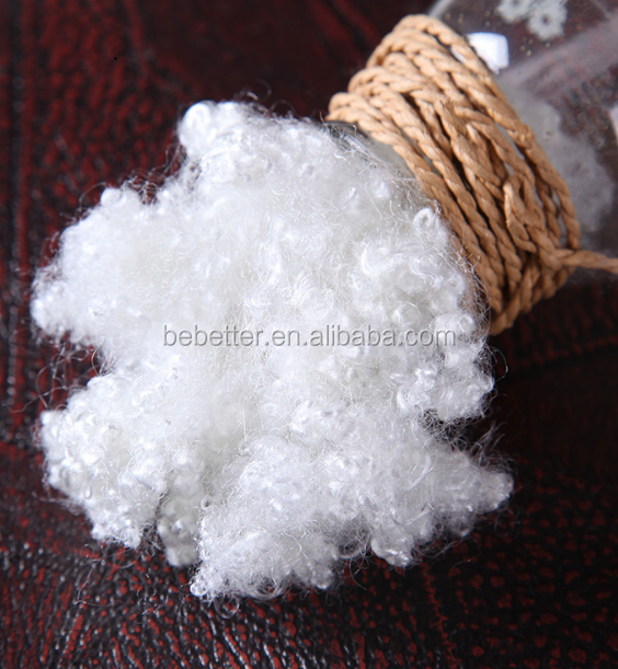 pillow filling material white psf hollow conjugated polyester staple fiber