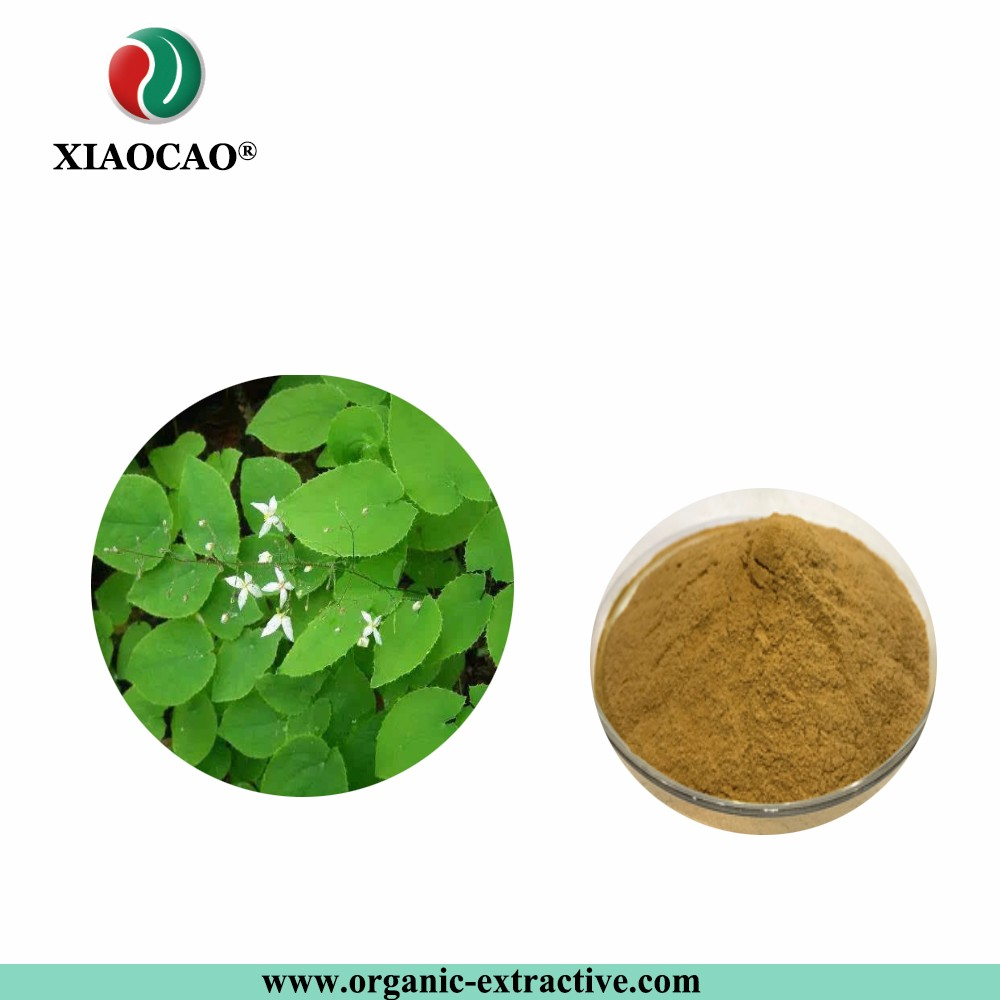 Manufacturer Supply Horny Goat Weed Extract Icariin/Enhance Sexual Function/Epimedium Extract