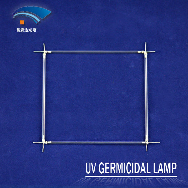 12V 254nm Quartz Bactericidal CCFL UV Lamp