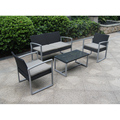 China Supplier Unique Design Synthetic Rattan/Wicker Weave Sofa Set