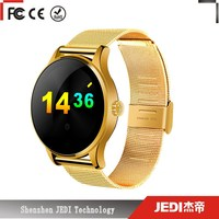 2016 smart mobile watch phone with video call support Android iOS_C518