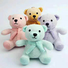 2017 New Arrival Plush Portable Toy Bear For Portable Bluetooth Speaker;Lade Christmas Gift