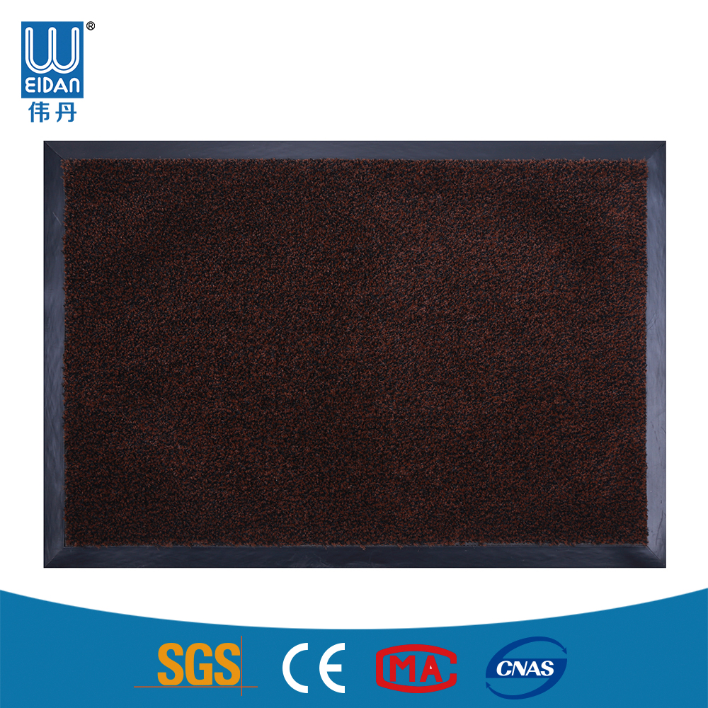 Anti-bacterial pvc plastic carpet roll