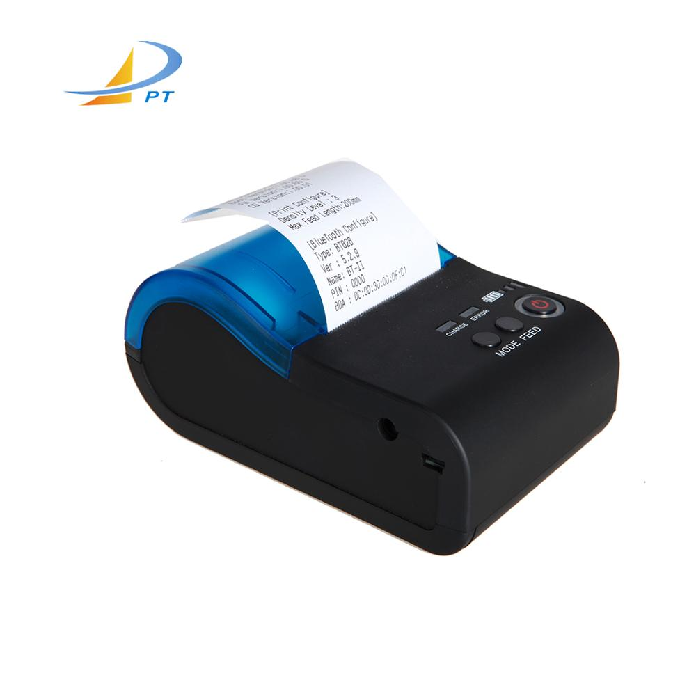 Factory direct sale cheap 58mm mini portable bluetooth thermal printer with android BT-II