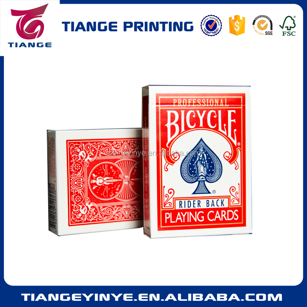 Standard Bicycle Playing Card