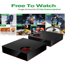 Wasee brand Q1 android tv box HD IPTV box Smart tv free to watch tv show