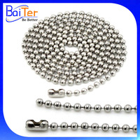 1.5mm-8mm 10mm Metal Ball Chain For Pendant,Stainless Steel Ball Chain Necklace,Men's 316L Stainless Steel Ball Chain Wholesale