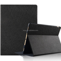 New hot for Apple ipad Pro , PU material Case Solid color for ipad cover with back strap