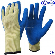 RL Safety New arrival cheap white cotton glove With PVC dots safety