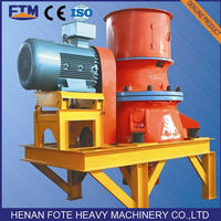 High Crushing Ratio Single Cylinder Hydraulic Cone Crusher From Zhenghzou