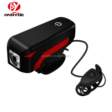 USB Rechargeable Bicycle Light Waterproof Quick Release Bike Front Light Speaker Touch Switch Bicycle Light