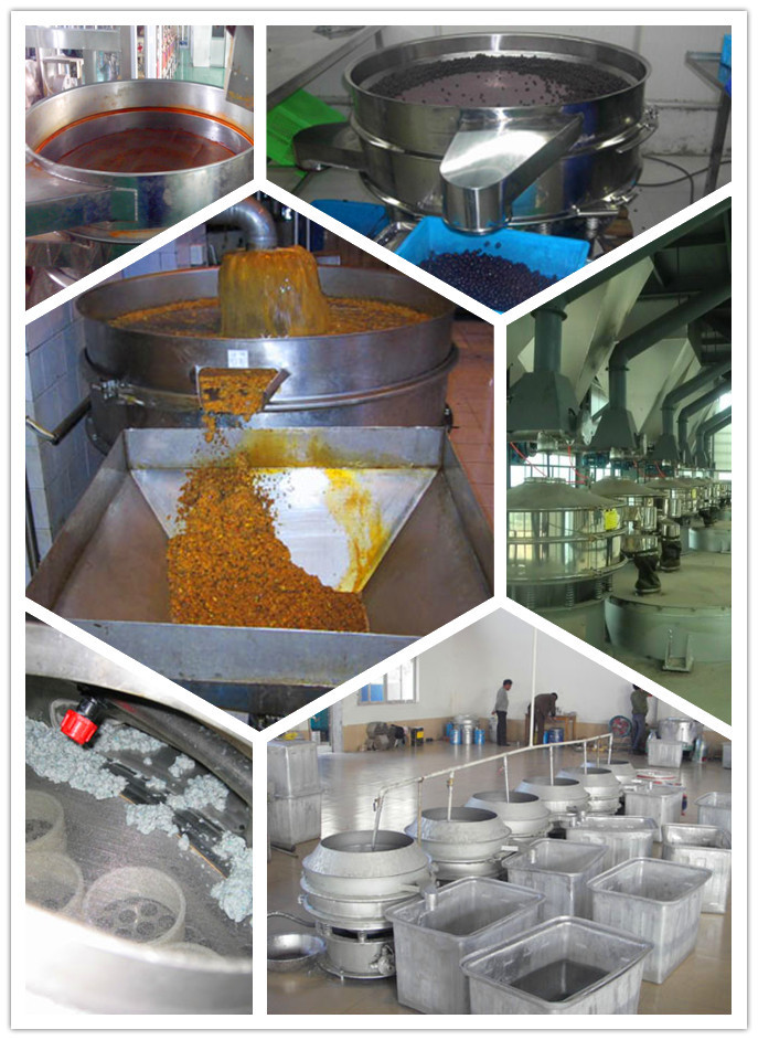 Separating Plant,separator Type and New Condition Powder Automatic Sieving Machine