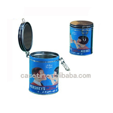 Wholesale round coffee high quality tin cans factory