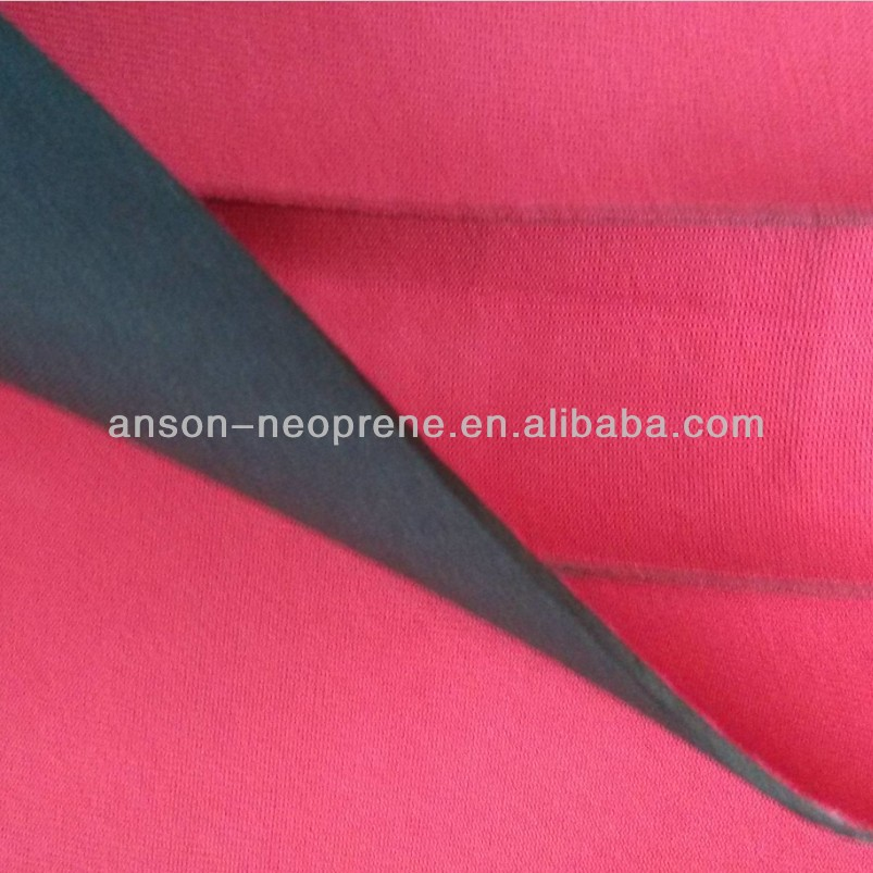 Anson brand neoprene nylon cloth