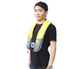 Yellow fishing vest Custom reflective vest Floating fly fishing vest