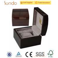 Deft design wrist watch box wooden for men lady