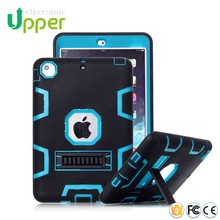Shockproof case for tablet,Heavy Duty Kickstand Rubber case Cover For iPad 1 2 3 4 air 1 2 case , For iPad Mini 1 2 3 4 cover