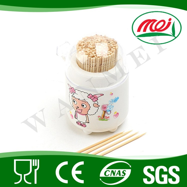 Best natural eco-friendly healthy bamboo fun toothpick