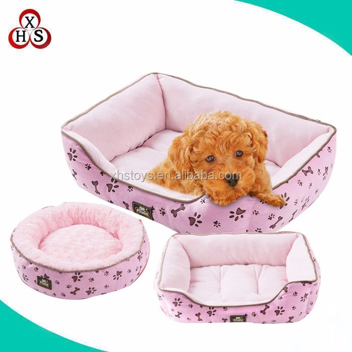 chinese cheap stuffed soft luxury dog bed cute luxury dog bed