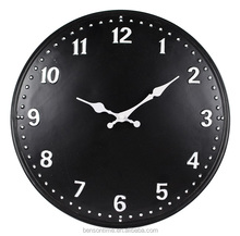 Cason Black Wall CLOCK Artistic Wall Clock