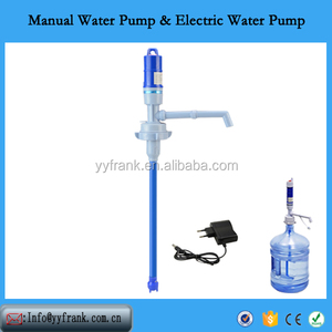 battery drinking water pump for 5gallon bottle