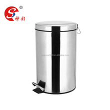 Metal Pedal Stainless Steel Trash Bin/Waste Bin/Garbage Can