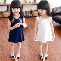 New design Free sample hot sale dress model 10 year old girl